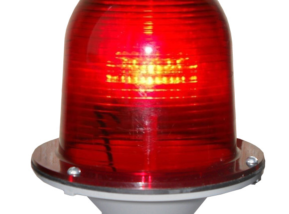 светильник зом огонь заградительный красный купить