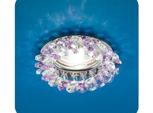 точечный светильник Venecia хром, роз