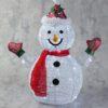 тканевый снеговик сетка